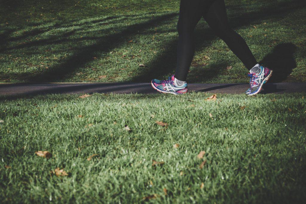 Läufer im Park
