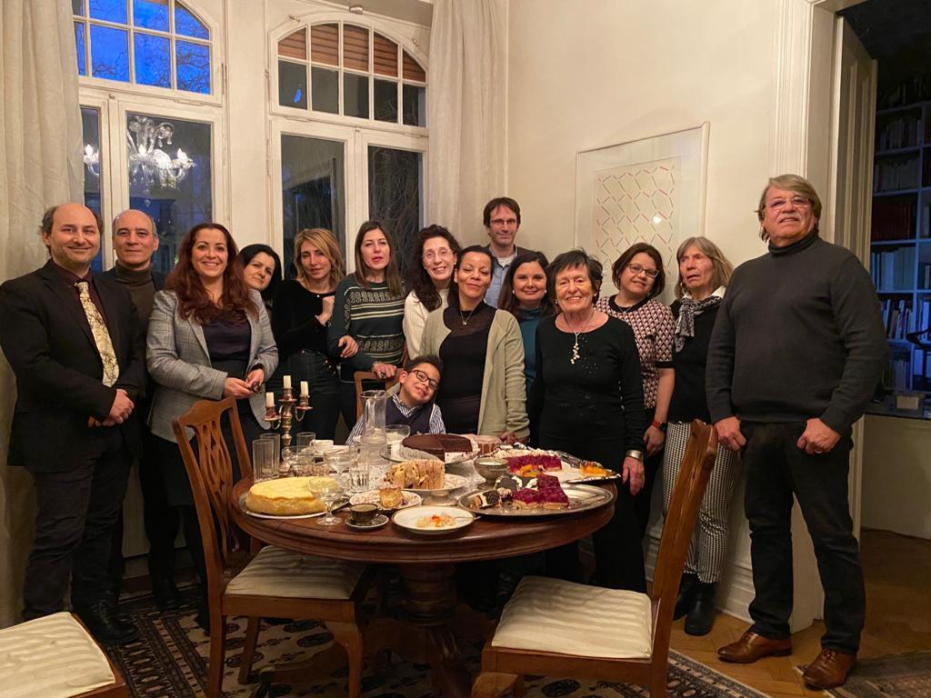 BiLis Vorstand, Lehrerschaf und Dr. Alessandro Bonesini